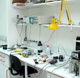 unser Labor für Handy Reparatur in Zwickau
