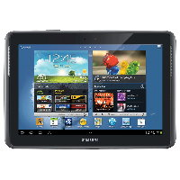 Abbildung von Samsung Galaxy Note 10.1 LTE (GT-N8020)