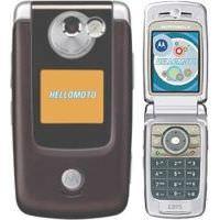 Abbildung von Motorola E895