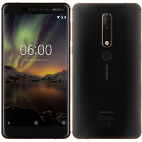 Abbildung von Nokia 6 2018 (TA-1054)