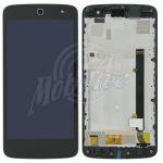 Abbildung zeigt Original Frontschale mit Display + Touchscreen schwarz