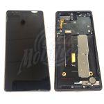 Abbildung zeigt Nubia Z17s Frontschale mit Display + Touchscreen gold