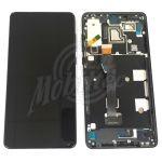 Abbildung zeigt Mi Mix 2s Frontschale mit Display + Touchscreen schwarz