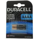Abbildung zeigt Duracell Ultra AAAA - 2er Pack