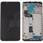 Abbildung zeigt Original Redmi Note 5 Frontschale mit Display + Touchscreen schwarz