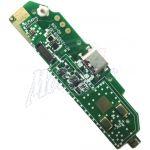 Abbildung zeigt WP2 USB Ladeanschluß Stecker auf Subboard mit Mikrofon