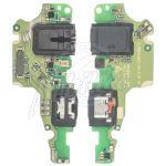Abbildung zeigt Original Micro USB Lade-Board + Mikrofon + Headsetbuchse
