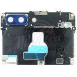 Abbildung zeigt Kamera-Cover mit Kameraglas blau