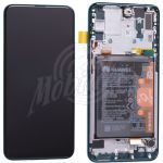 Abbildung zeigt Original P Smart Z Display + Touchscreen + Rahmen und Akku gruen