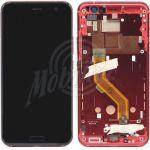 Abbildung zeigt U11 Display + Touchscreen Einheit mit Rahmen rot
