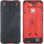 Abbildung zeigt Original Rückschale Akkudeckel +Fingerprint +Kamerglas rot