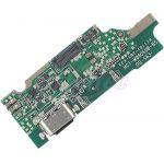 Abbildung zeigt K9 USB-Ladebuchse Ladestecker Platine mit Mikrofon