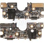 Abbildung zeigt USB-Ladebuchse + Mikrofon + Audiobuchse Platine